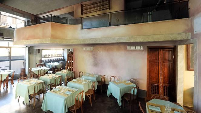 Vista sala - Cantina della Vetra, Milan
