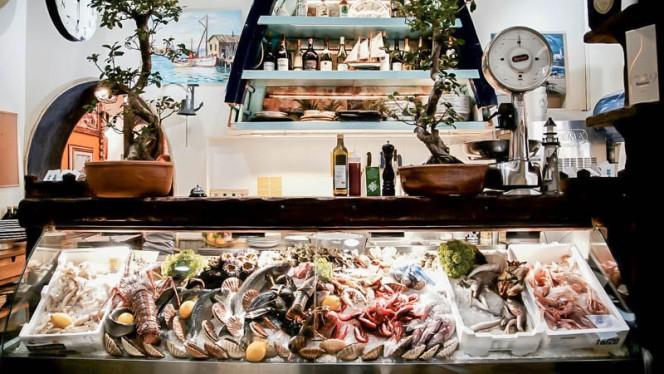 Vista ristorante - Acqua e Sale, Milan