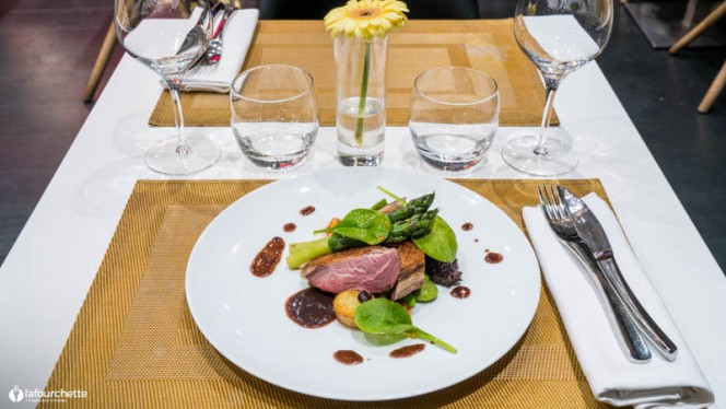 Suggestion de plat - Nama, Bordeaux