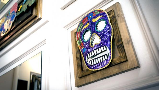 Detalle decoracion - Chilangos, Barcelona
