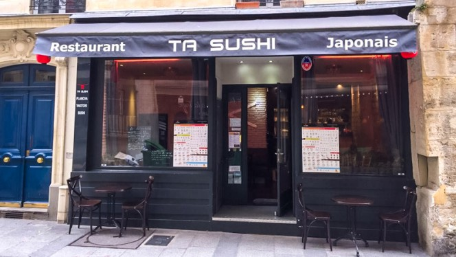 Devanture - Ta Sushi, Paris