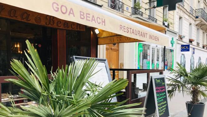 Terrasse - Goa Beach, Paris