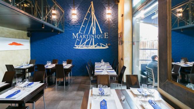 Sala del ristorante - Martinique grill, Milan