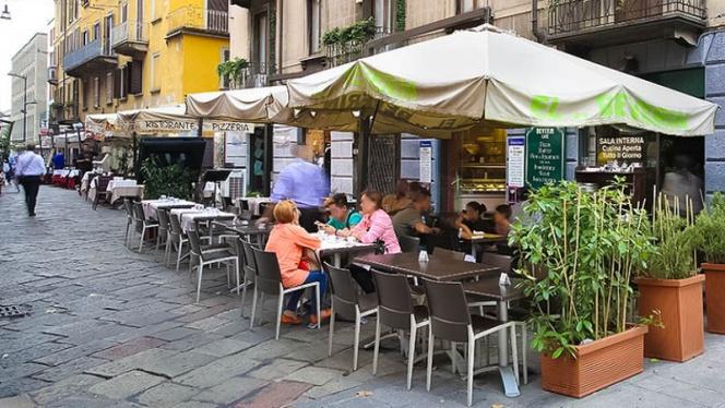 terrazza - El Beverin, Milan