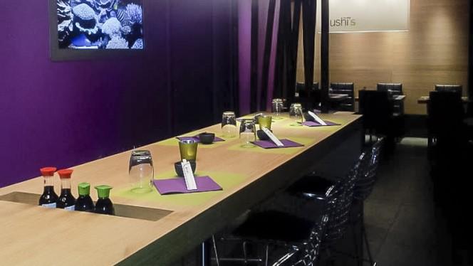 Table dressée - Sushi's Robertsau, Strasbourg