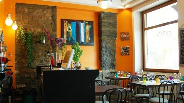 Vue de l'intérieur - Café Comptoir du Commerce, Lyon