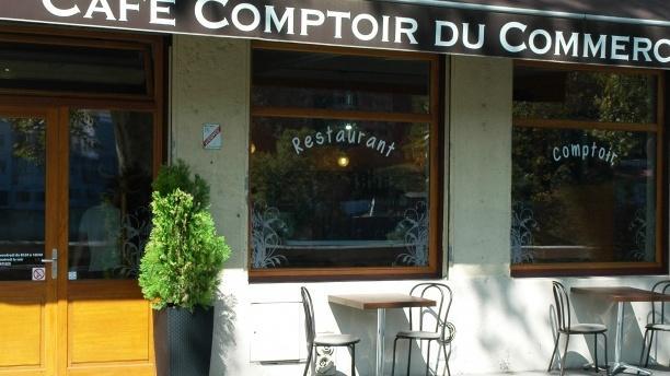 Devanture - Café Comptoir du Commerce, Lyon