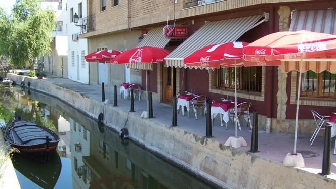 Terraza junta al canal y los arrozales - Racó de les Eres, Valencia