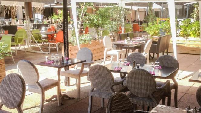 vue de la terrasse - Brasserie de la Place, Aix-en-Provence