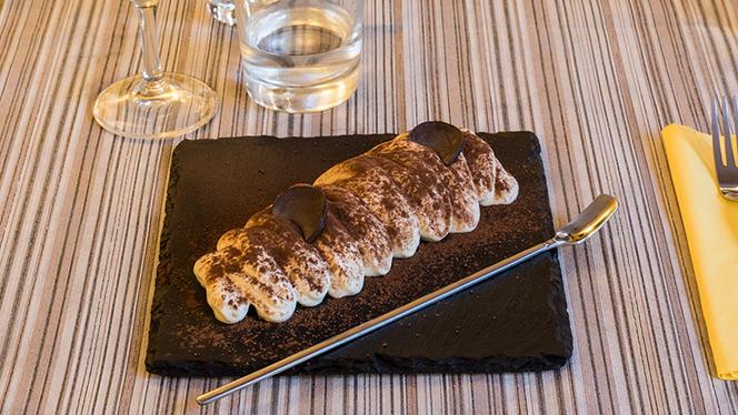 Dessert Tiramisú Espresso - Alesi Bistrot, Rome