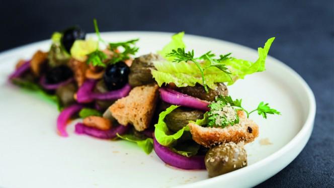 Vegan Caesar Salad - Eetkamer Everydays, Zwolle