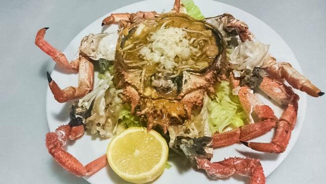 plato pescado - El Caldero de Roal, Leganés