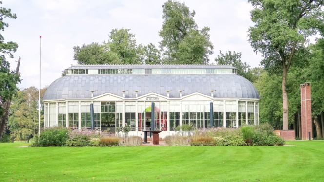 Ingang - De Oranjerie, Barneveld