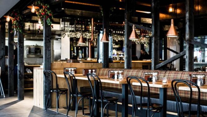 Het restaurant - Wush CS, Amsterdam
