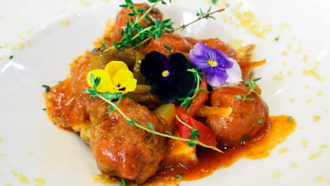 Sugerencia del chef - La Fragua, Cádiz