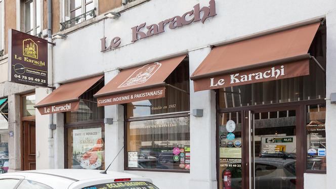 Vue de la façade - Le Karachi, Lyon