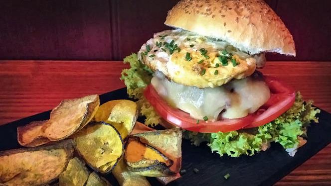 detalle hamburguesa - Balsàmic, Barcelona