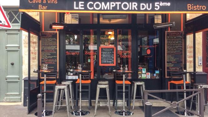 Devanture - Le Comptoir du 5e, Paris