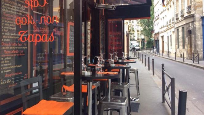 Terrasse - Le Comptoir du 5e, Paris
