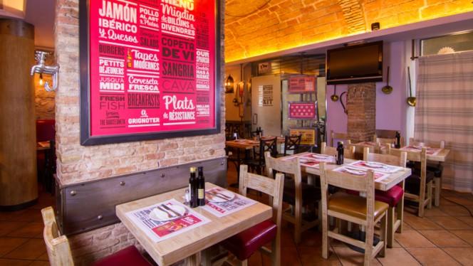 Sala del restaurante - El Guindilla - Born, Barcelona