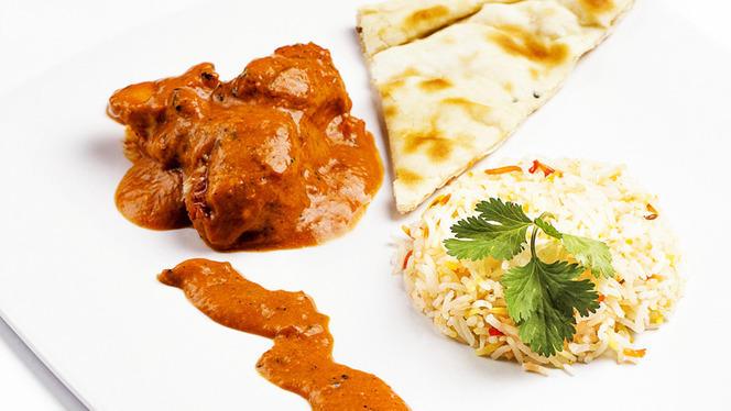 chicken tikka masala - Indian City, Benalmadena