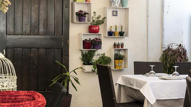 Tavoli all'aperto - La Cecchina, Bari
