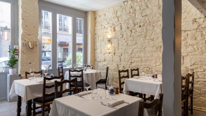 Salle du restaurant - La Table d'Ambre, Lyon