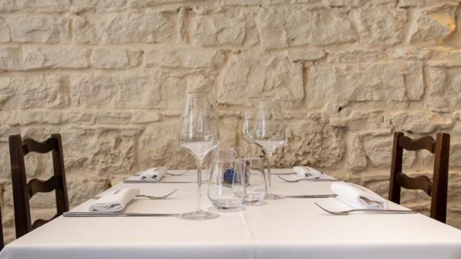 Vue des tables - La Table d'Ambre, Lyon