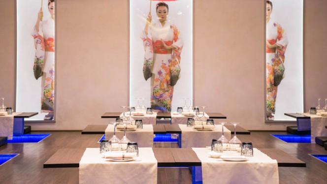 Sala del ristorante - Koi Restaurant, Turin