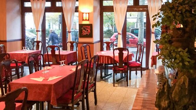 Salon du restaurant - Shokado, Paris