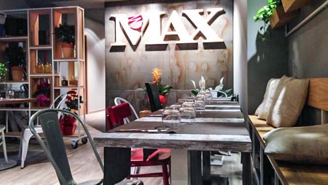 La sala - Max Roma, Rome