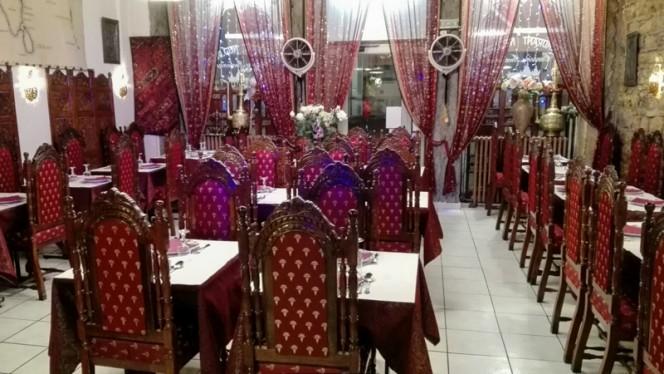 Salle du restaurant - New Delhi, Lyon