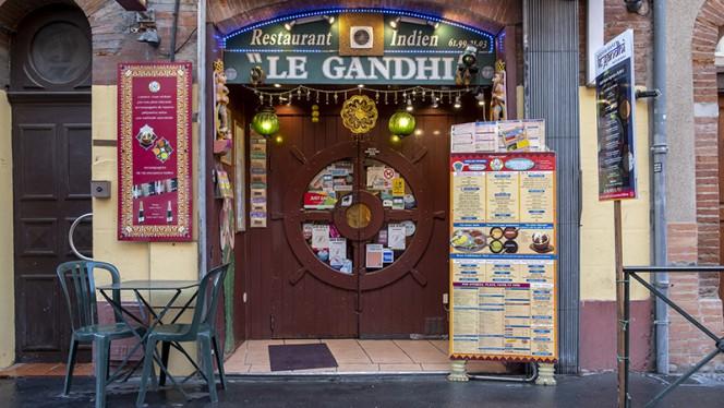 Devanture - Le Gandhi, Toulouse
