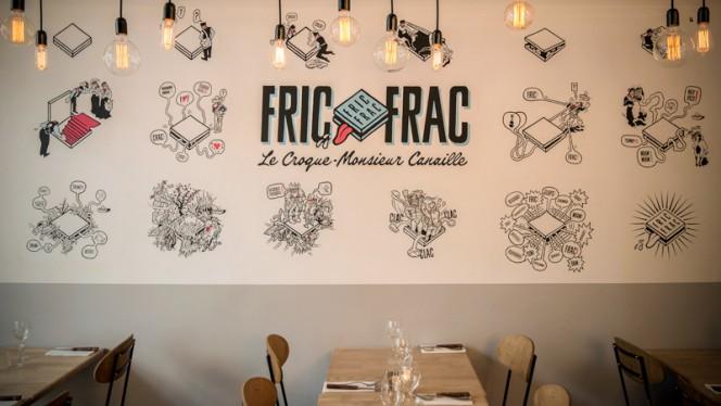 Fresque FRIC-FRAC - Fric-Frac, Paris