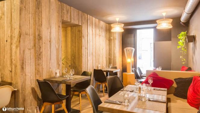 Salon du restaurant - Une Sage Idée, Nantes