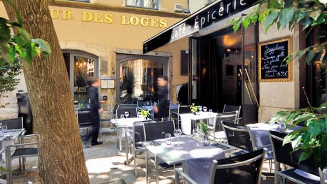 Terrasse - Café Épicerie - Hôtel Cour des Loges, Lyon