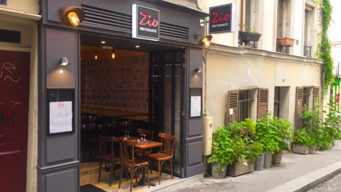 Entrée - Zio, Paris
