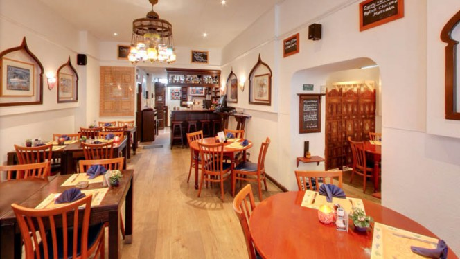 Het restaurant - Taj Mahal, Utrecht