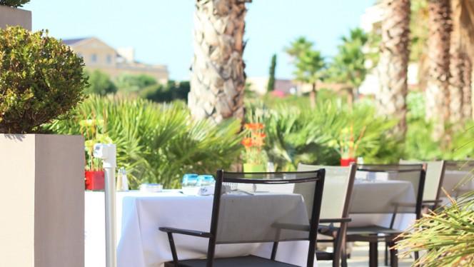 terrasse - Golden Tulip Villa Massalia, Marseille