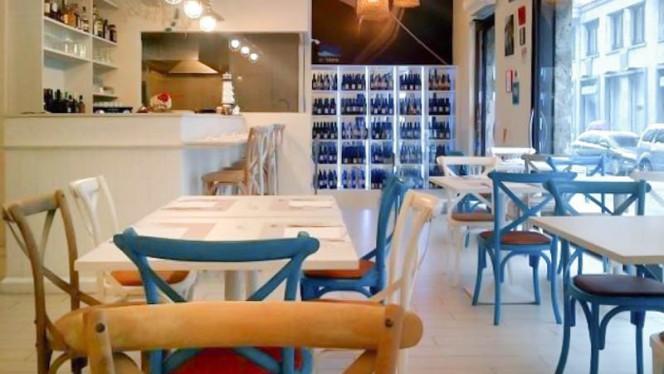 Sala del ristorante - A'Mare, Milan