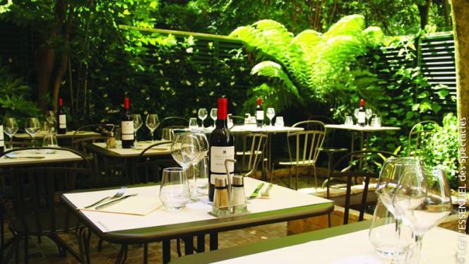 Notre patio - Le Café Bastide, Bordeaux