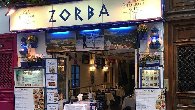 enseigne - Zorba Le Grec, Paris