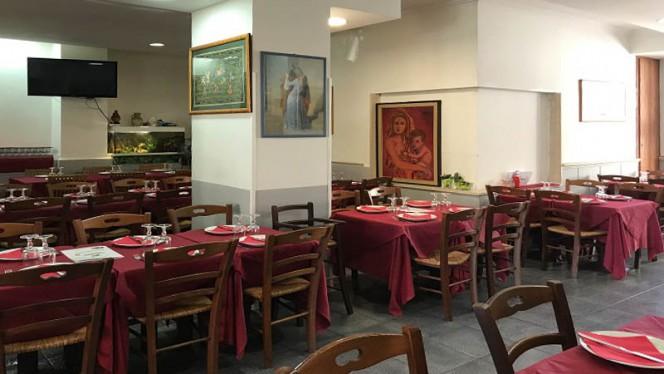 Vista sala - La Mosca Bianca, Rome