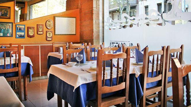 mesas montadas de mediodía - A Cañota, Barcelona