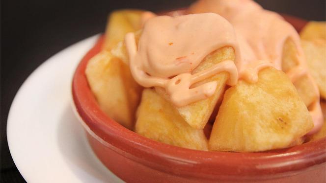 detalle patatas bravas - Vitae, Barcelona