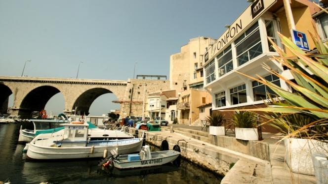 Devanture - Chez Fonfon, Marseille