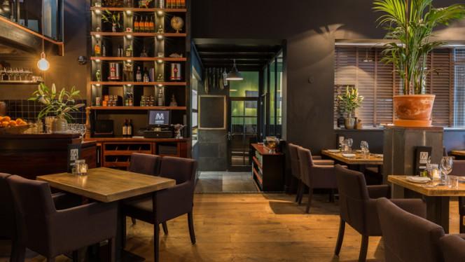 Het restaurant - MOOII, Rotterdam