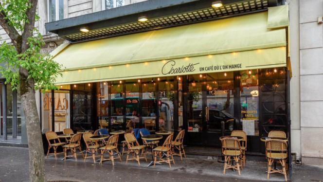 Entrée - Café Charlotte, Paris