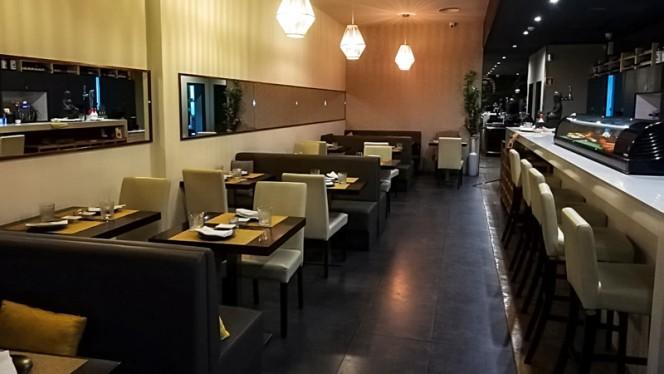 Interno - Shiso Restaurante, Porto