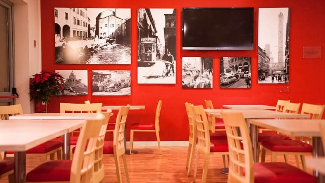 sala - Bistrot Rosso Fuoco, Bologna
